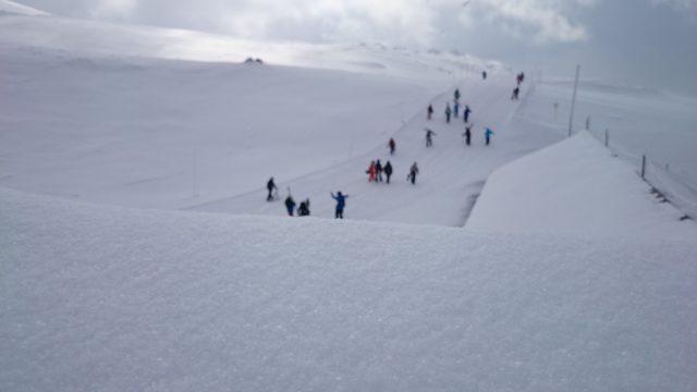 大雪山旭岳ロープウェイスキーコース